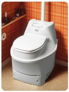 expensive composting toilet