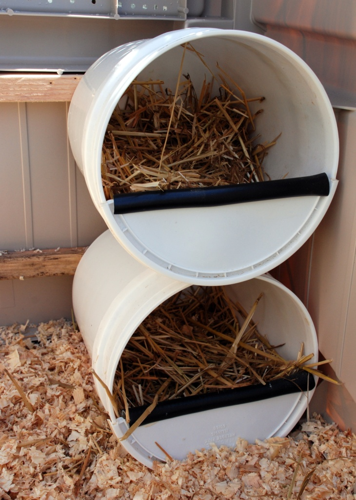 Chicken Nesting Boxes Five Gallon Ideas