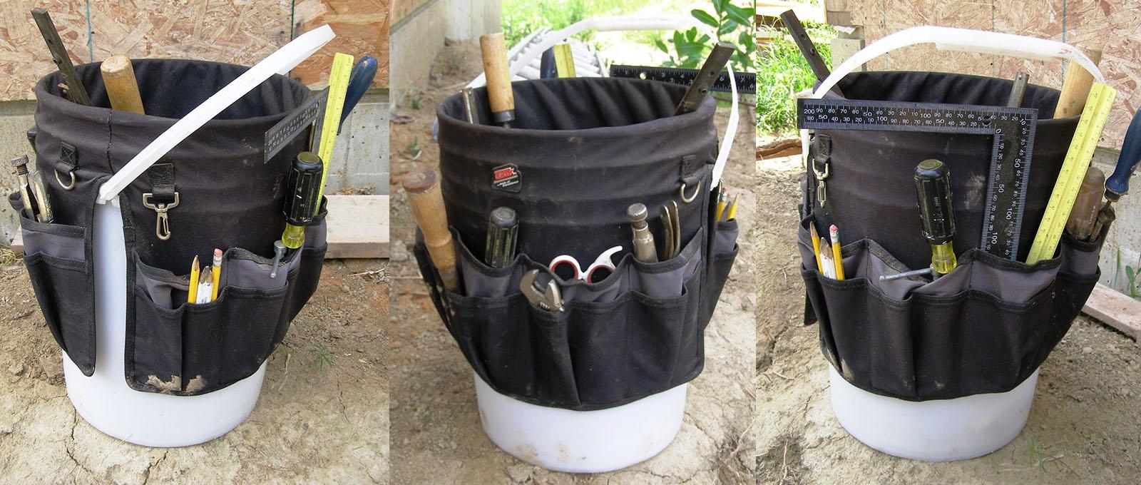 5 Gallon Bucket Tool Organizers | Five Gallon Ideas