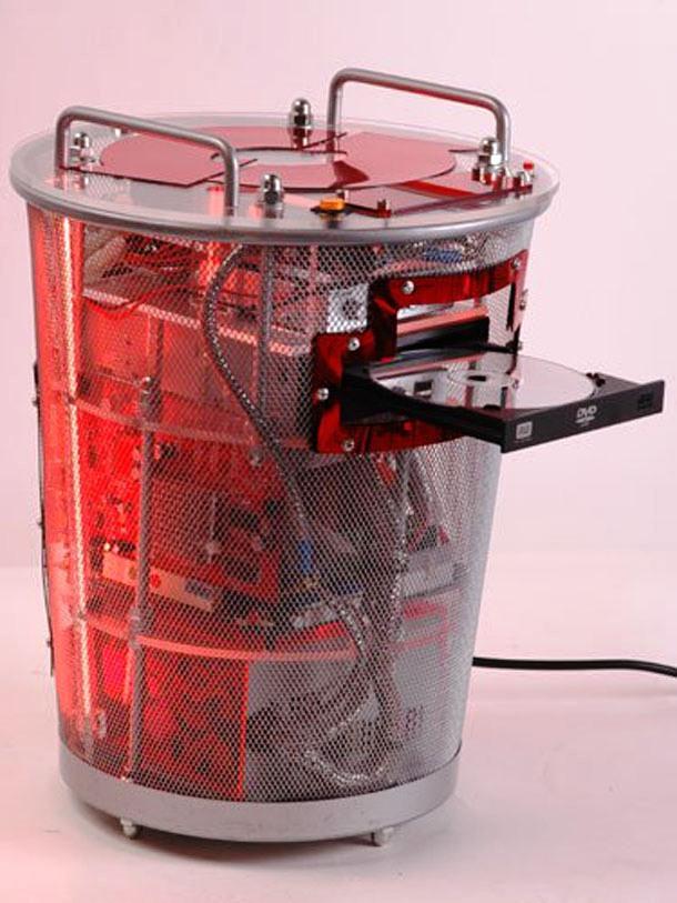 mesh bucket computer