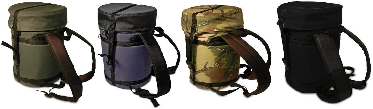 Backpack five gallon ideas for Fishing caddy bucket