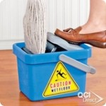 foot pedal mop bucket