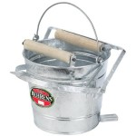 metal mop bucket