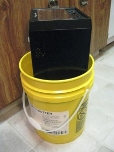 shuttle xpc tower computer size 5 gallon bucket