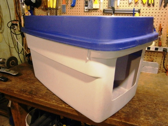 diy large litter box 2
