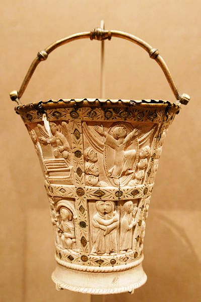 ivory situla bucket conical