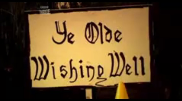 wishing well sign