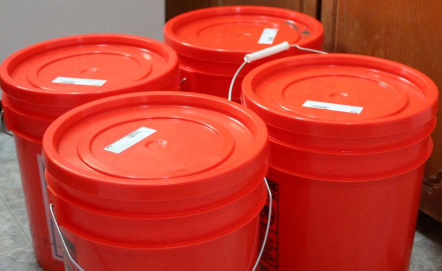 airtight storage containers & 5 Gallon Buckets: the Ultimate Airtight Storage Containers | Five ...