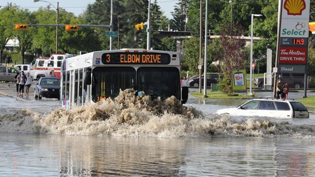 flood damage in calgary