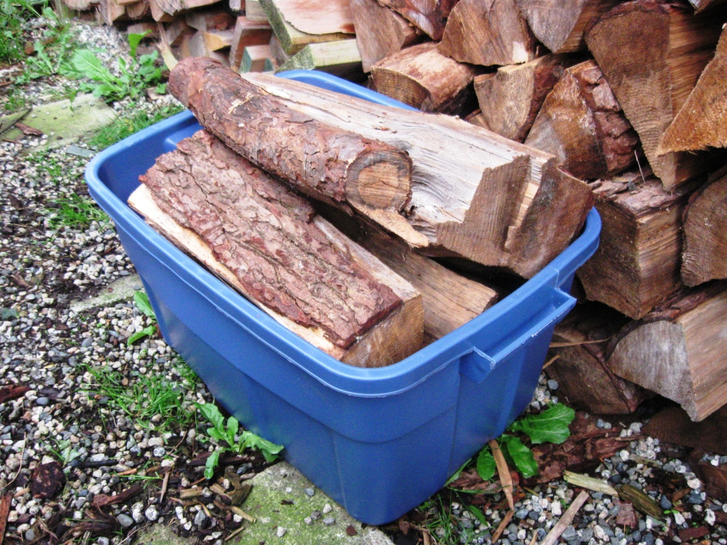 firewood carrier