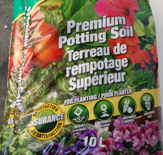 potting soil for sub irrigated planter