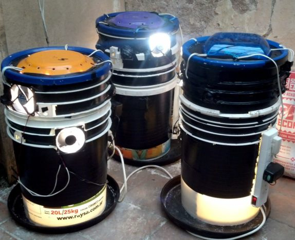 space buckets black DIY how to guide