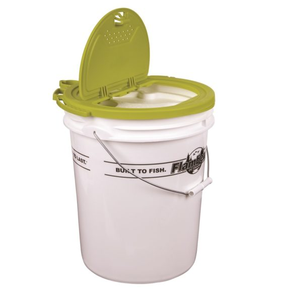 fishing bait bucket