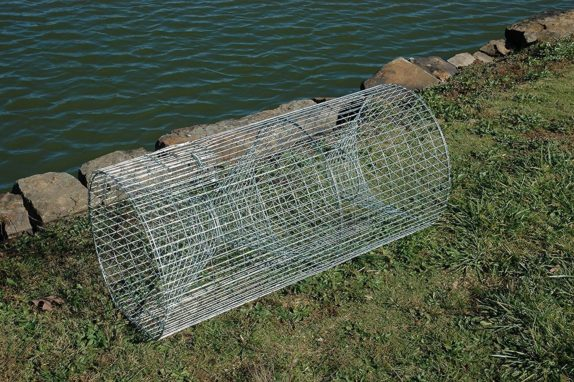 How to build your own fishing trap self sufficiency for Homemade fish traps