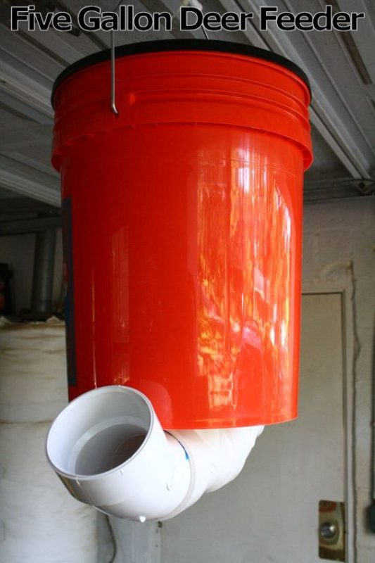 Deer Feeder | Five Gallon Ideas