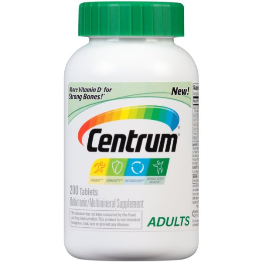food storage multivitamin supplement