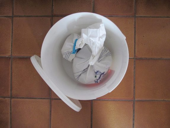 emergency flour storage bucket