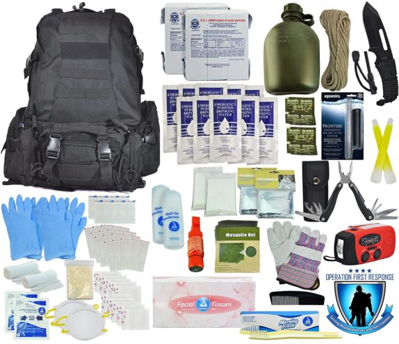 bug out bag bucket supplies equipment