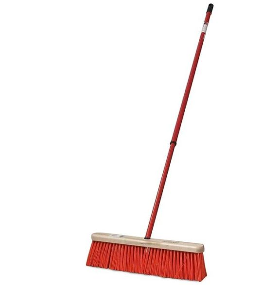 wide brush broom