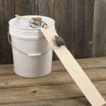 bucket mouse trap with ramp