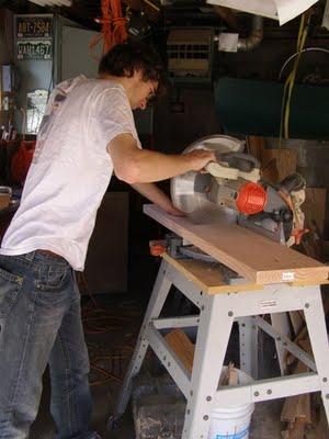 2x10 lumber cutting
