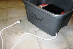 plug in bucket