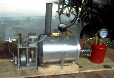 5 gallon steam engine