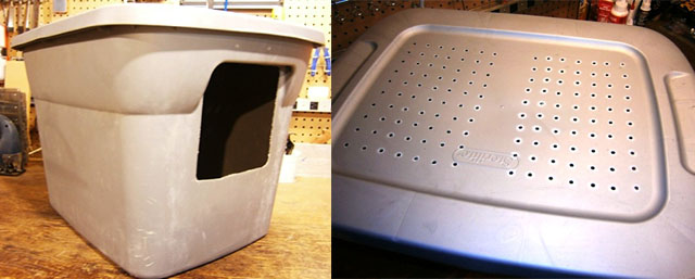 cat box with airholes