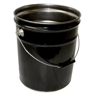 metal 5 gallon bucket