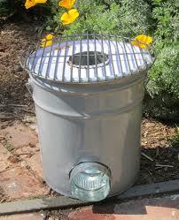 5 gallon bucket rocket stove