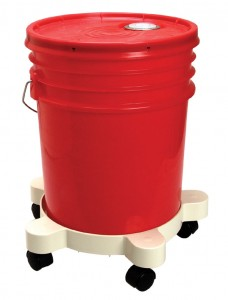 bucket dolly with 5 gallon bucket