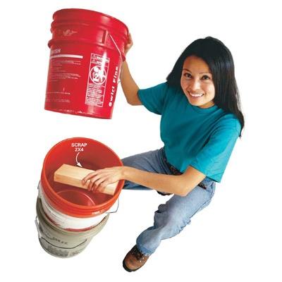 5 gallon bucket spacer