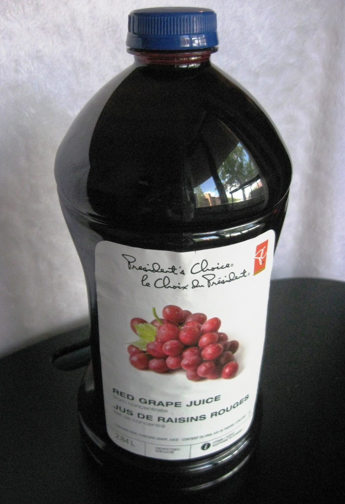 grape juice bottle 1 gallon