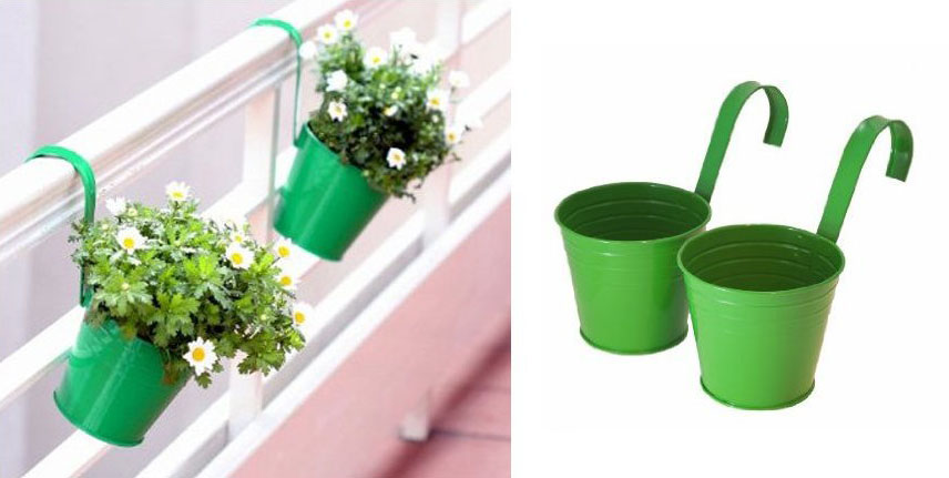 hanging basket bucket