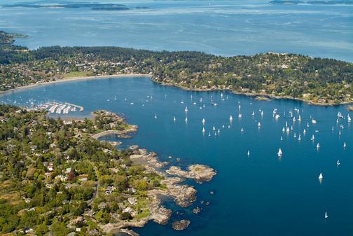 cadboro-bay-sailboats
