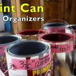 Paint Can Nail Organizers