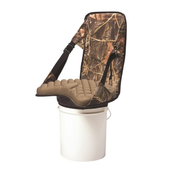 lumbar support bucket seat
