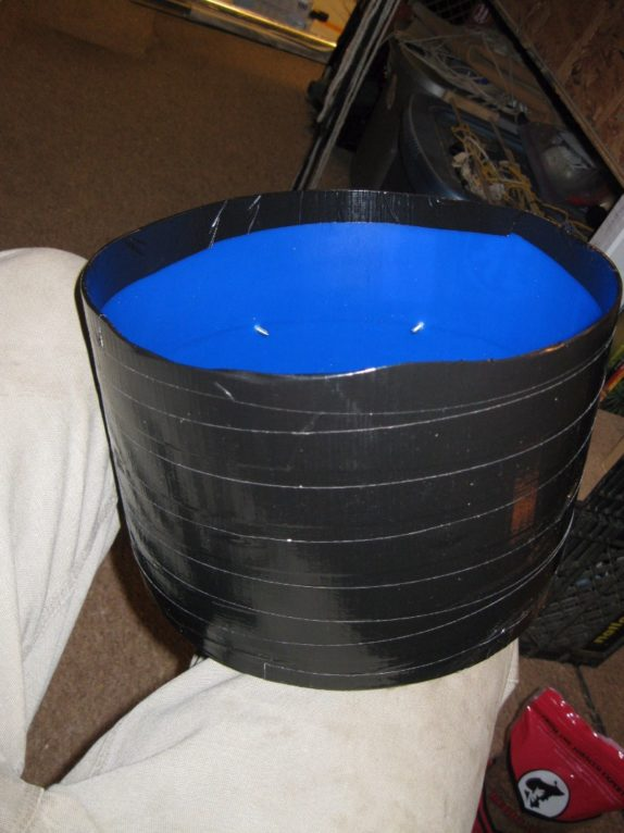 drain pan space bucket
