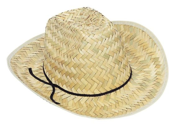 cowboy hat straw cheap wig scarecrow
